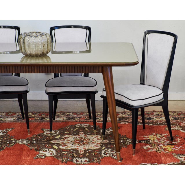 Italian Mid-Century Modern Dining Table - Image 6 of 11