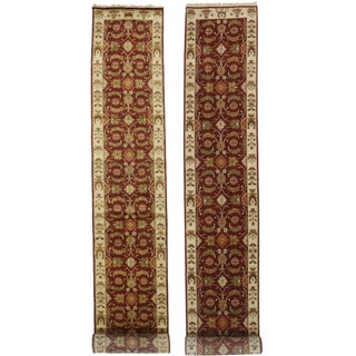 RugsinDallas Persian Style Hand-Knotted Wool Runners - a Pair