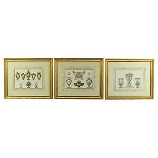 19th Century Sevres Chromolithographs - Set of 3