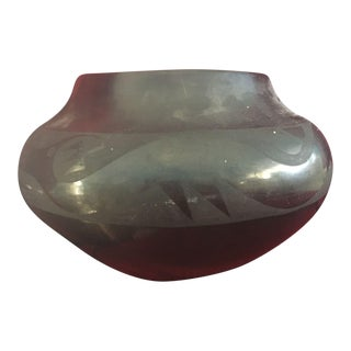 Art Deco Indian Pot