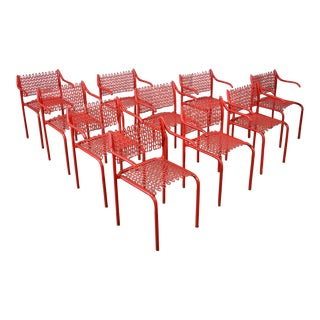 David Rowland Thonet Sof Tek Chairs - Set of 10