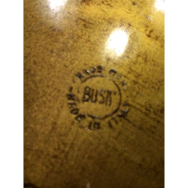 Vintage Florentine Craved Gold Leaf Orange Tray - Image 5 of 7