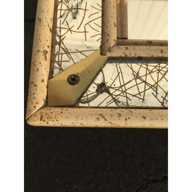 Mid-Century Atomic Mirrored Shadowbox - Image 6 of 9
