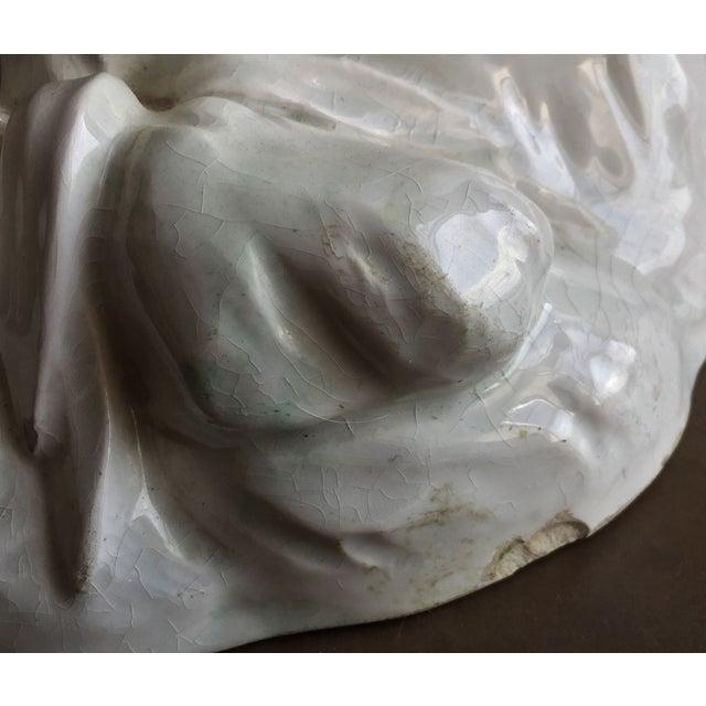 19th C. Falconet Porcelain 'Bather' Sculpture - Image 10 of 10