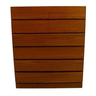 Vinde Mobelfabrik Danish Modern 10-Drawer Dresser