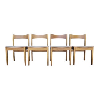 Danish Modern Teak Chairs - Set of 4
