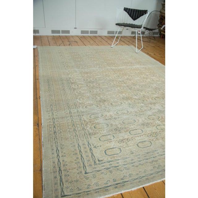 "Vintage Distressed Kaisary Carpet - 6'7"" x 9'5"" - Image 10 of 10"
