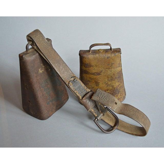 Antique Primitive Cow Bells - A Pair - Image 3 of 4