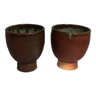 Glazed Stoneware Bowls - Set of 2