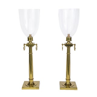 Tommi Parzinger Hurricane Table Lamps - Pair