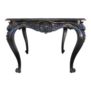 1870s Napoleon III Painted Table / Desk