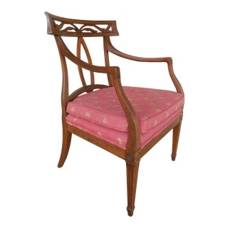 Traditional Antique Accent Chair