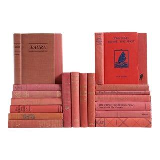 Midcentury Bookshelf in Dusted Rose, S/20