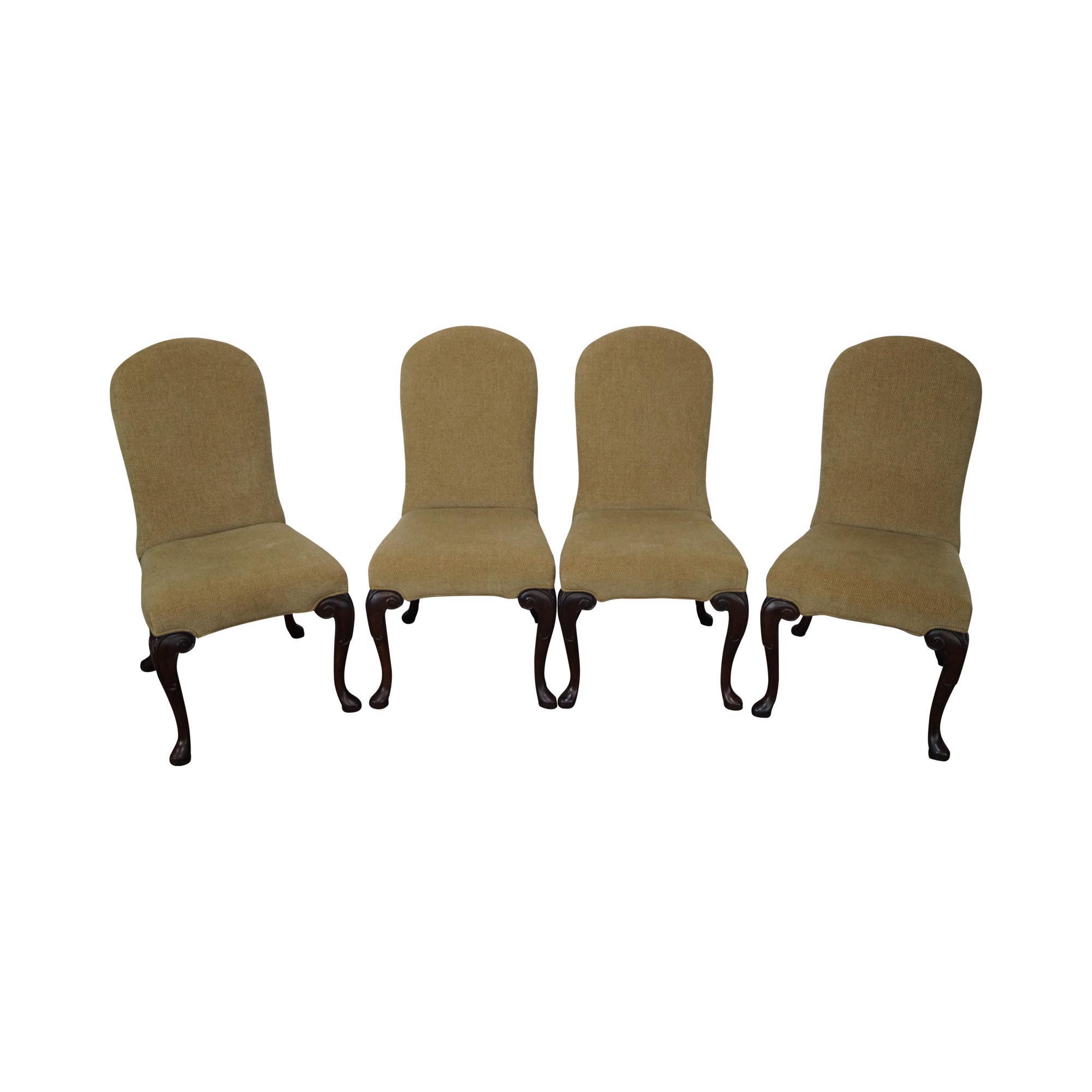 Ferguson Copeland Queen Anne Side Chairs   Set Of 4
