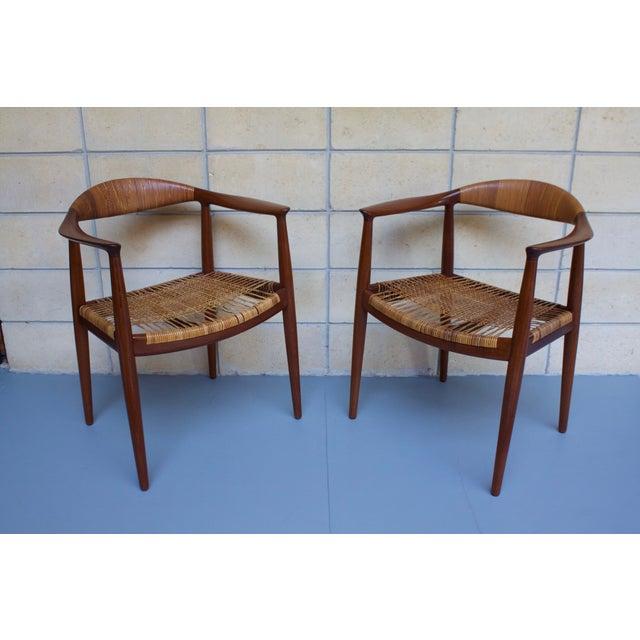 Hans Wegner Johannes Hansen 'The Chair' - A Pair - Image 3 of 10