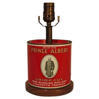 Custom Antique Tobacco Tin Lamp