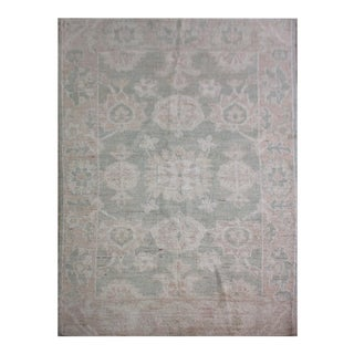 "Hand Knotted Fine Oushak Rugs by Aara Rugs Inc. - 4'1"" X 5'6"""