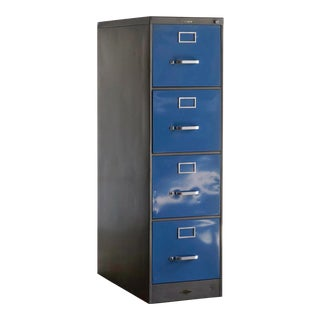 1960s Steelcase Vertical Filing Cabinet