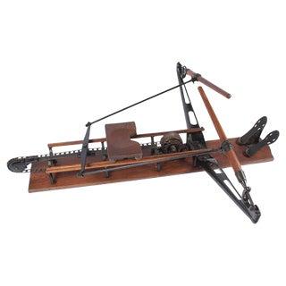 1920 Spalding Rowing Machine, Sporting Equipment