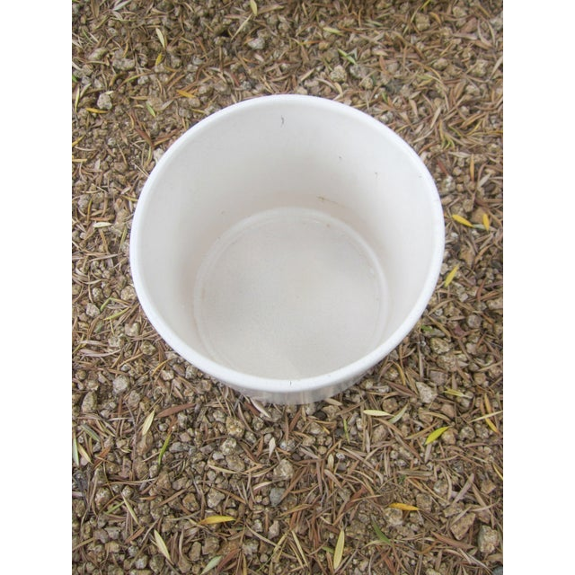 Gainey Architectural Modern Pottery Planter Pot - Image 4 of 6
