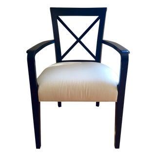 Ralph Lauren Black & White Accent Chair