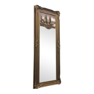 French Style Wall Trumeau Mirror
