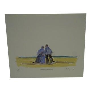 "Frederick McDuff ""Summer Souvenior"" Print"