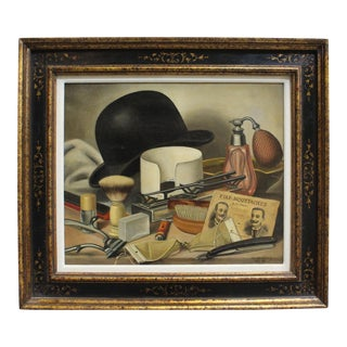 Men's Grooming Still Life by Charles Cerny
