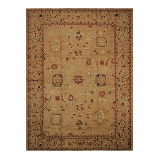 Kafkaz Peshawar Alesha Tan & Rust Wool Rug - 13′9″ × 18′10″
