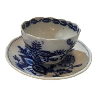 Couldon English Porcelain Cup & Saucer