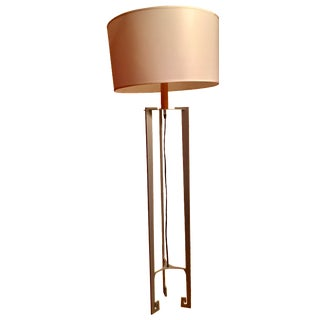 Modern Grey Metal Floor Lamp