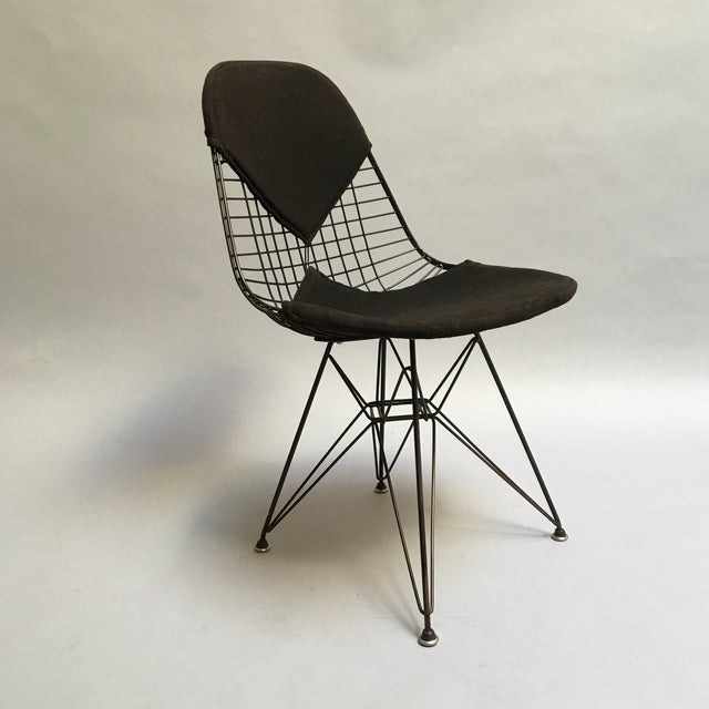 Image of Herman Miller Vintage 1950s Eames DKR Wire Chair