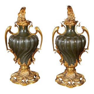 Pair of Fine, Russian Urns- SALE!