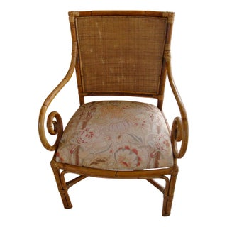 Cane and Rattan Chairs - A Pair