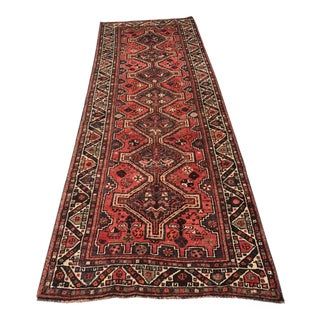 "Vintage Persian Shiraz Runner - 3'4""x9'7"""