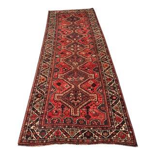 "Vintage Persian Shiraz Runner - 3'4""x9'7"""