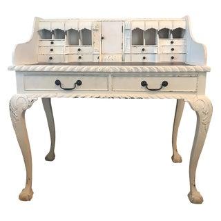 Shabby Chic White Vanity / Writing Desk