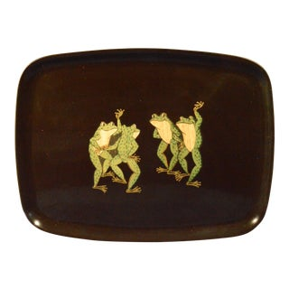 The Couroc Company Frogs Tray, 1960s.