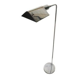 Koch & Lowy Chrome Tent Shade Pharmacy Lamp