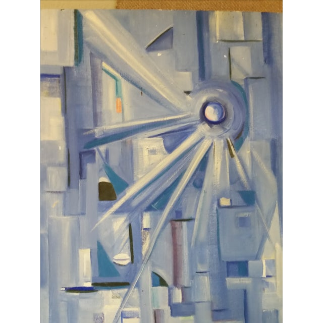 Post Modernist Abstract Acrylic Composition - Image 4 of 4