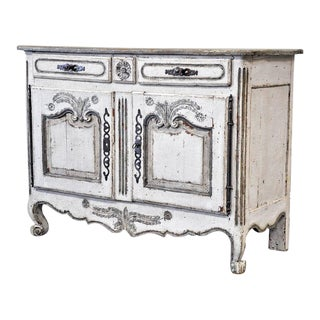 Painted French Provincial Buffet Bas