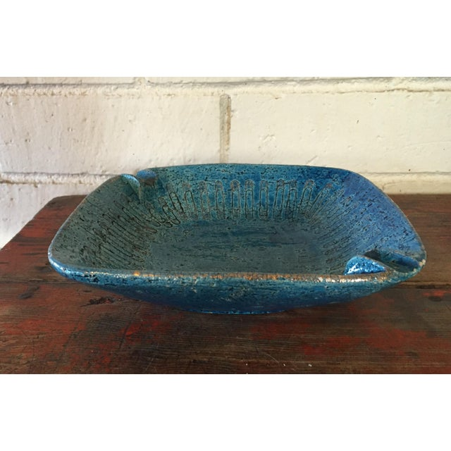 Bitossi Blue Bowl From Italy - Image 3 of 9
