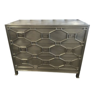 Global Views Silver Greenbrier Chest