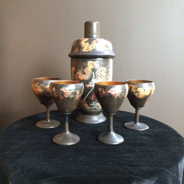 Chinoiserie Barware Set - Image 2 of 6