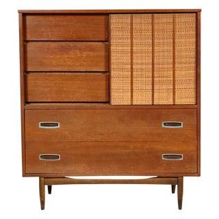 1960s Mainline by Hooker Walnut Dresser