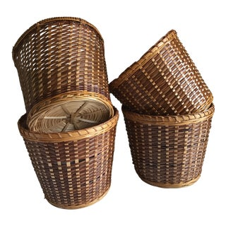 Boho Urban Chic Plant Baskets - Set of 4