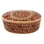 Image of Antique Kashmir Lacquer Paper Maché Box