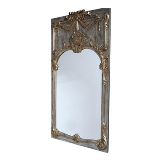 Italian Louis XV Style Trumeau Mirror