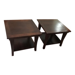 Pottery Barn Coffee Table Cubes - A Pair
