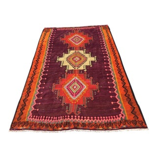 Vintage Turkish Kilim Rug